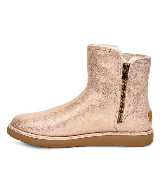 e14192a0048 UGG® Rose Gold Abree Mini Stardust Suede Boot - Women