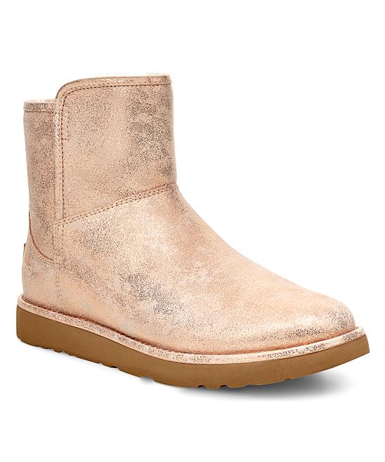 9fb4a48ac27 UGG® Rose Gold Abree Mini Stardust Suede Boot - Women