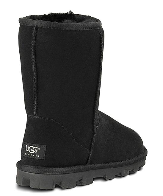 25a1f3c9a8b UGG® Black Essential Short Suede Boot - Women