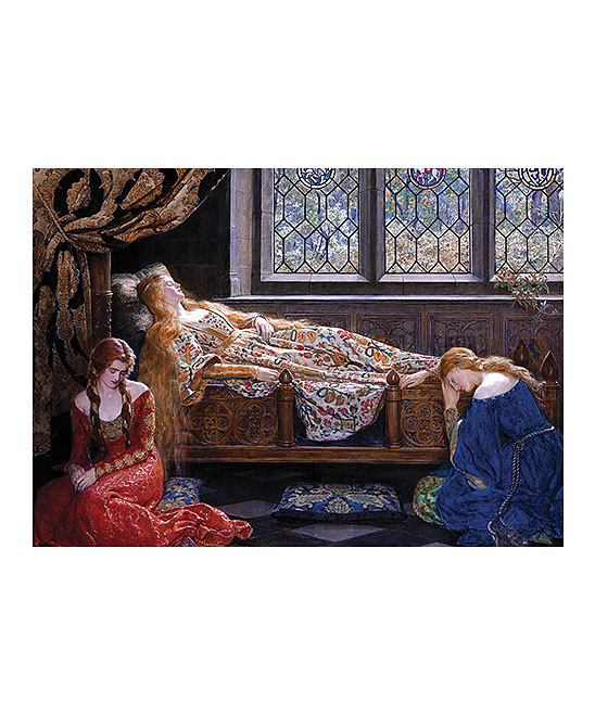 D-Toys  Puzzles  - Collier The Sleeping Beauty Puzzle