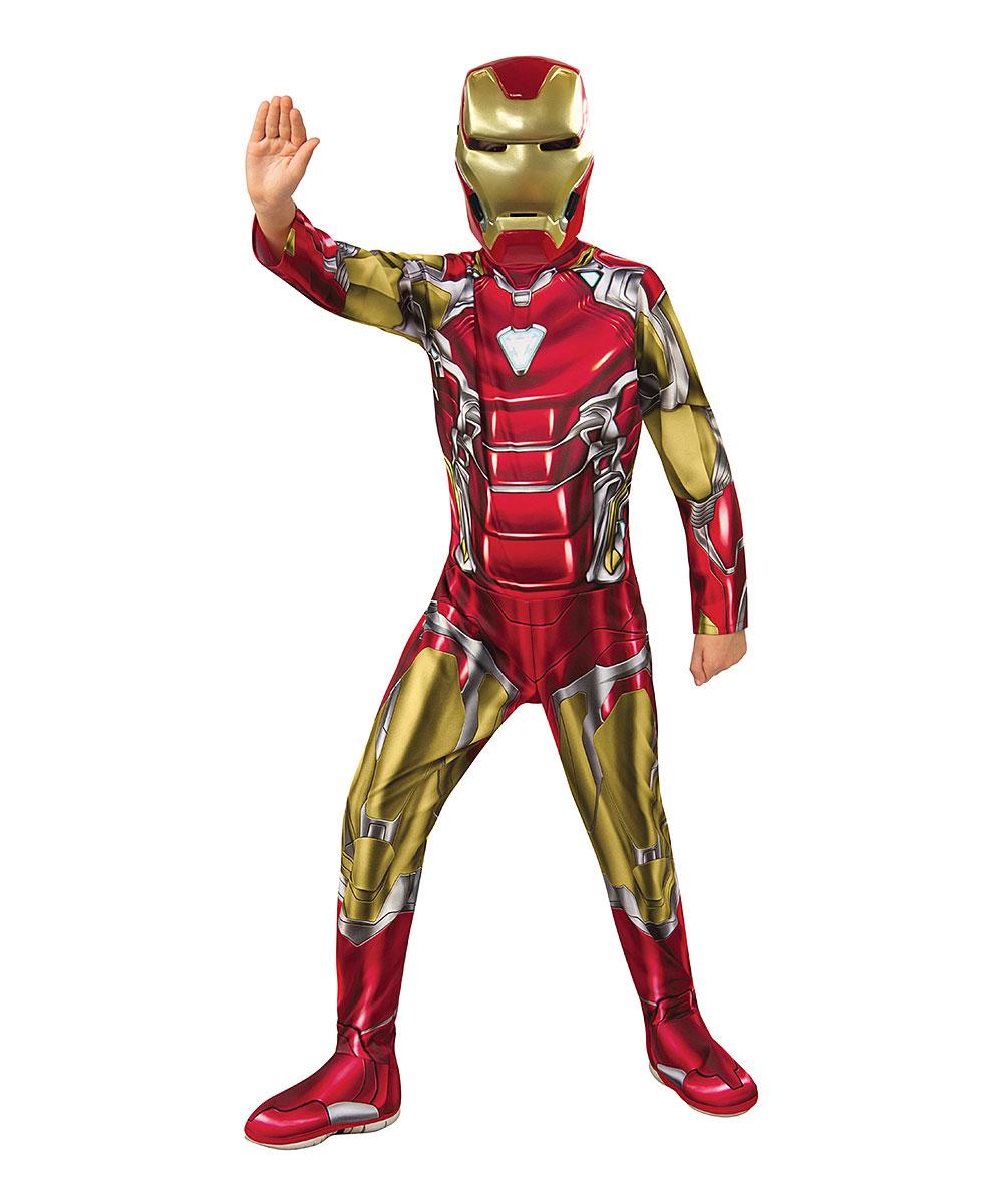 Rubie's Avengers Endgame Economy Iron Man Red & Gold Dress-Up Set - Boys