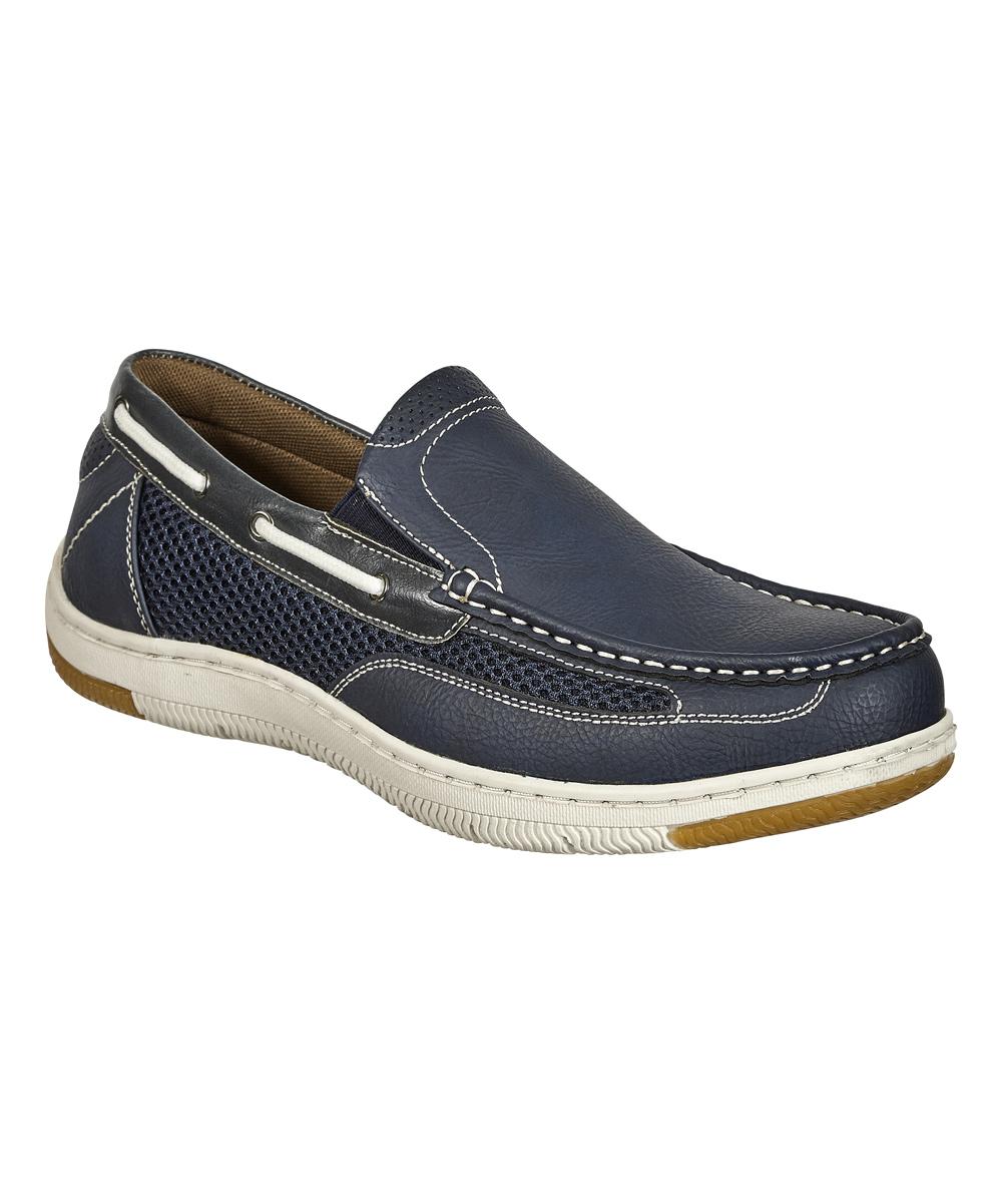 Aldo Rossini Men's Boat Shoes navy - Navy Stark Boat Shoe - Men