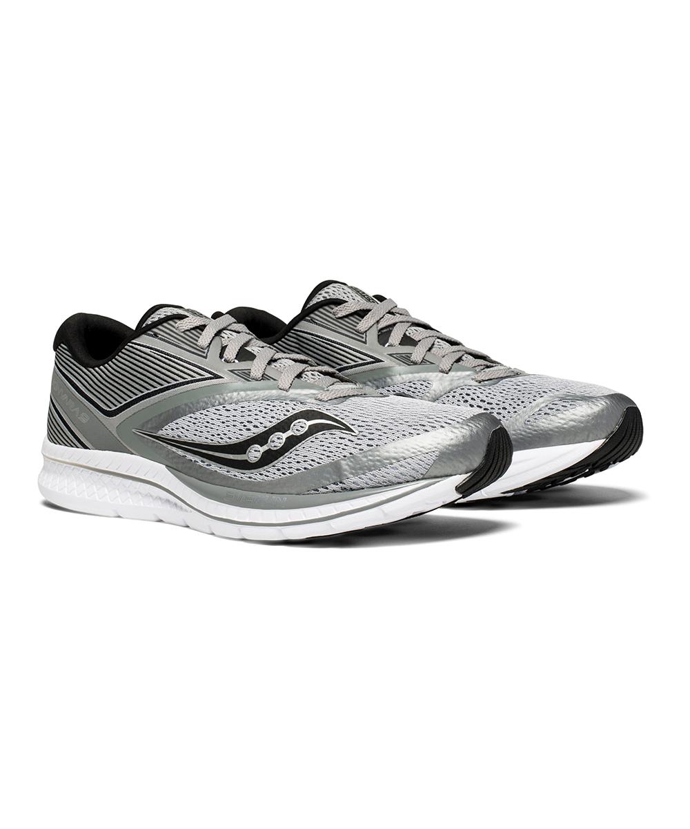 Saucony Men's Running Shoes GREY/BLACK - Gray & Black Kinvara 9 Running Shoe - Men