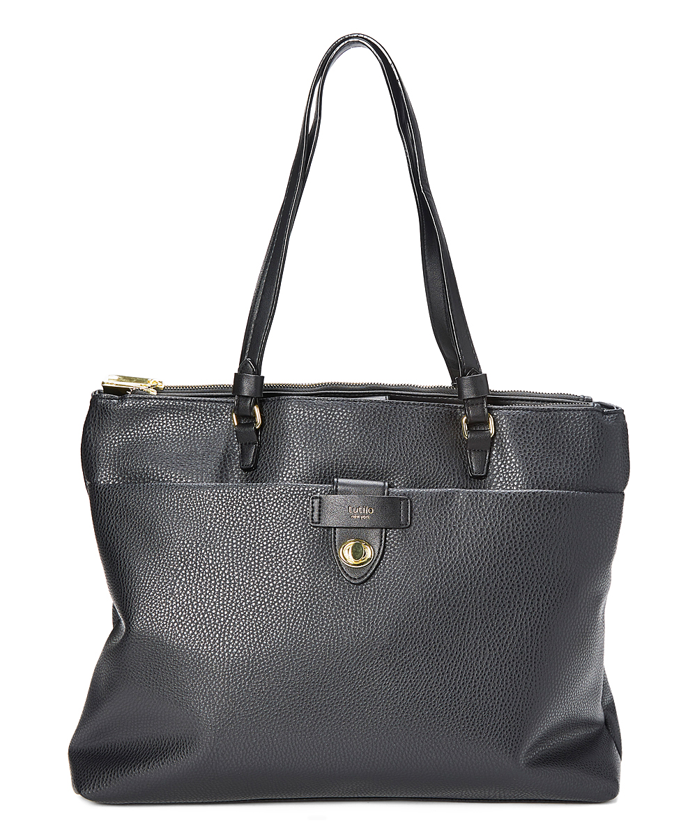 Black Laptop Tote