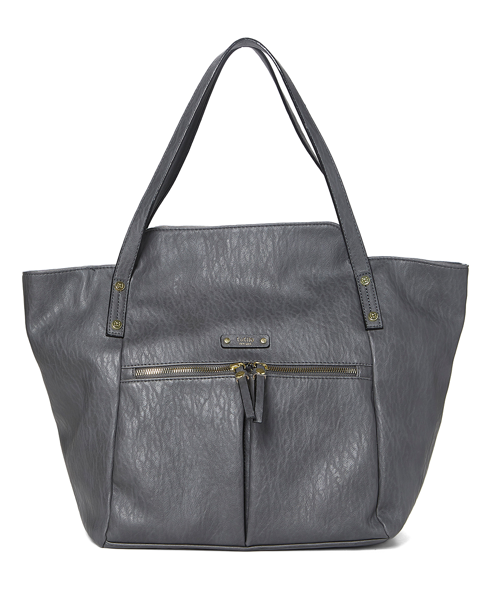 Charcoal Line Up Laptop Tote