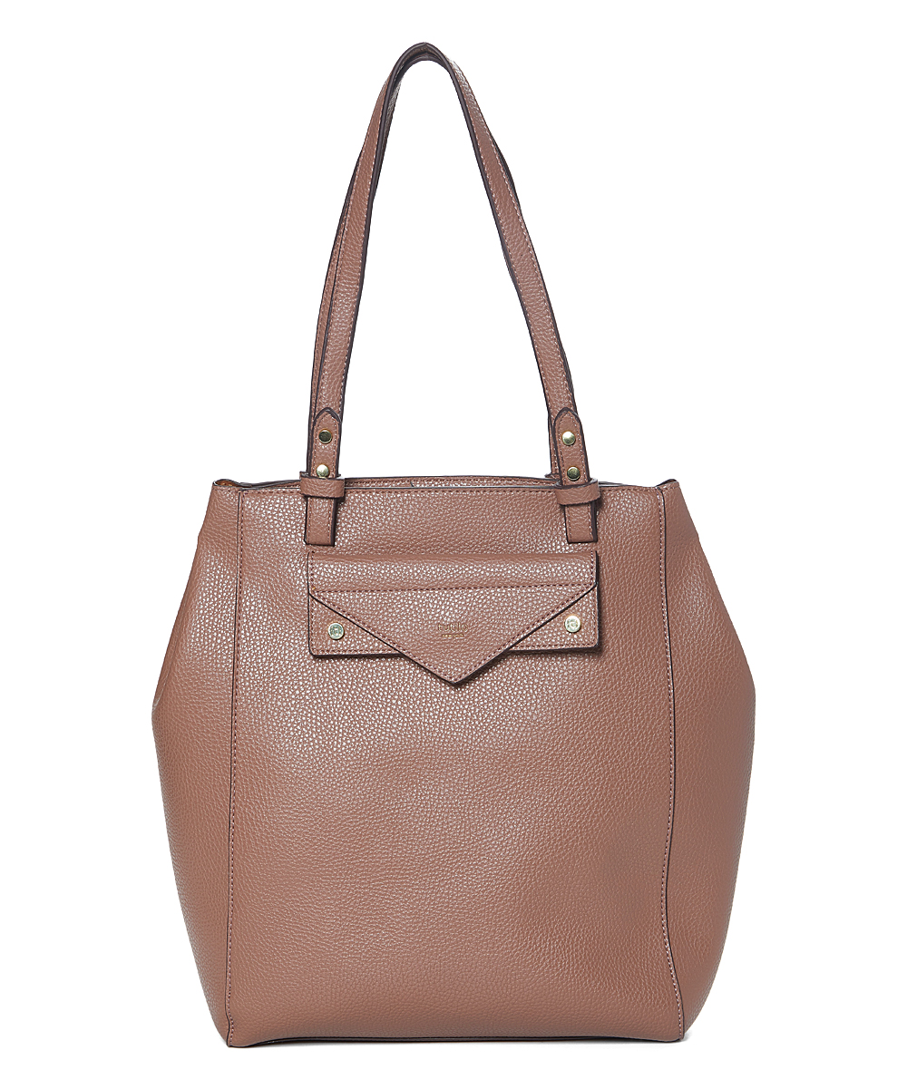 Tan Effortless Laptop Tote