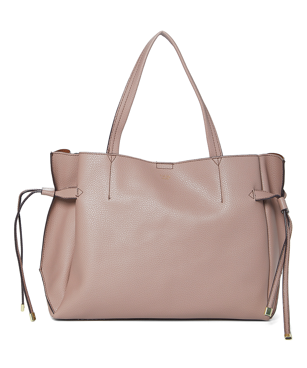 Mauve Hold Up Laptop Tote