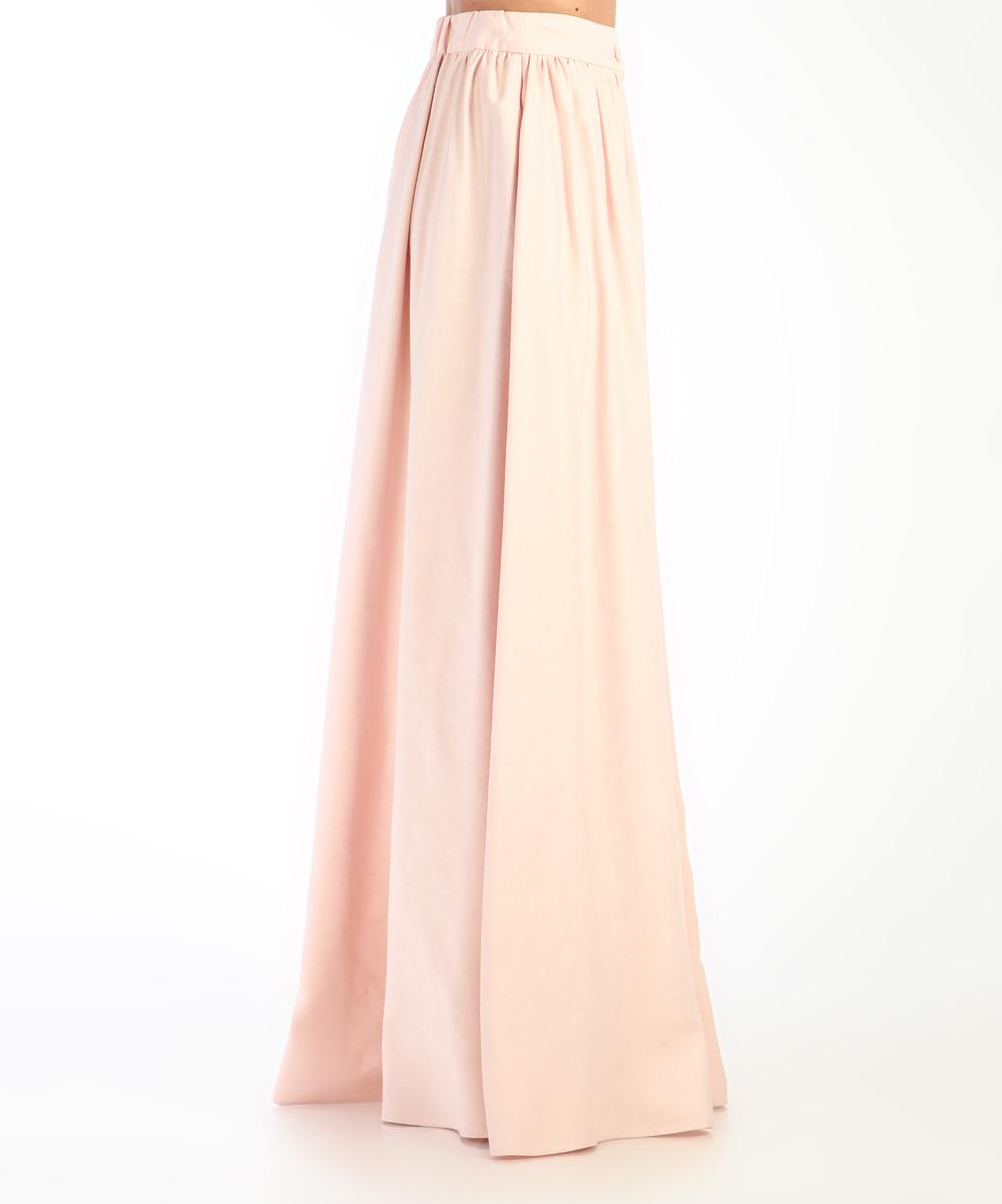 Carla By Rozarancio Light Pink Button Accent Maxi Skirt Women Zulily
