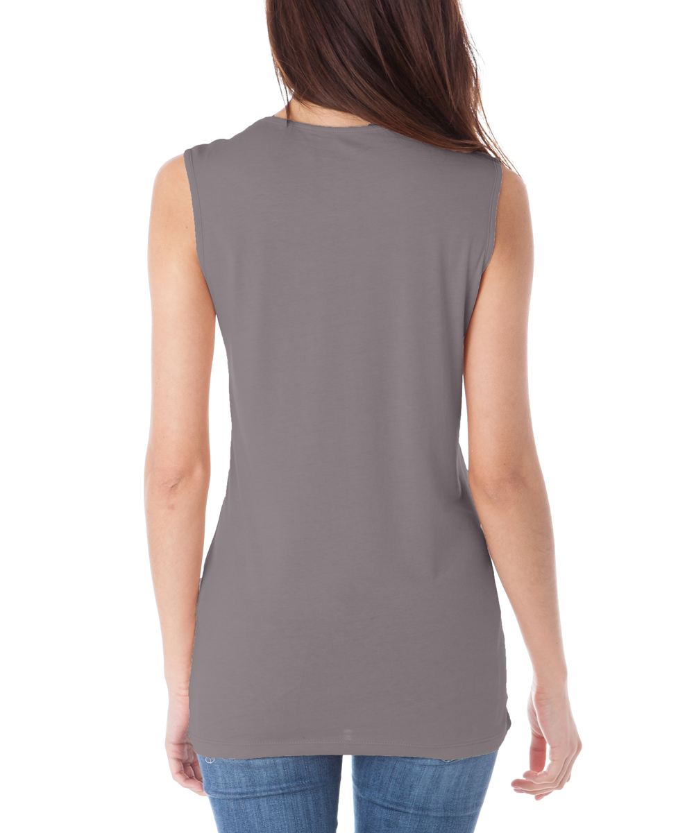 7cdf4638ad188 love this product Charcoal Wide-Strap Sleeveless Top - Women