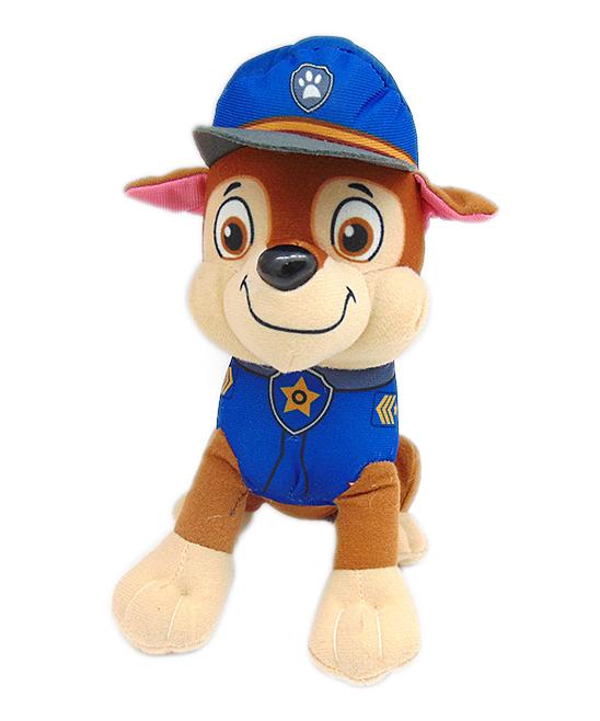 "Wonderland Toys  Stuffed Animals  - Paw Patrol Chase 10"" Stuffed Toy"
