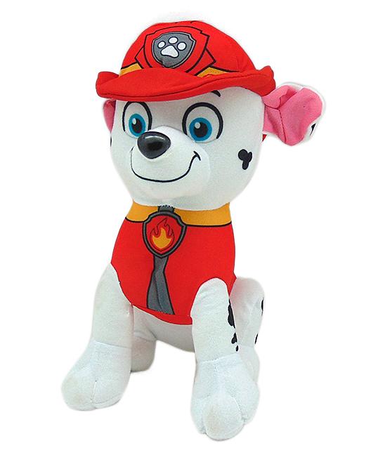 "Wonderland Toys  Stuffed Animals  - Paw Patrol Marshall 10"" Stuffed Toy"