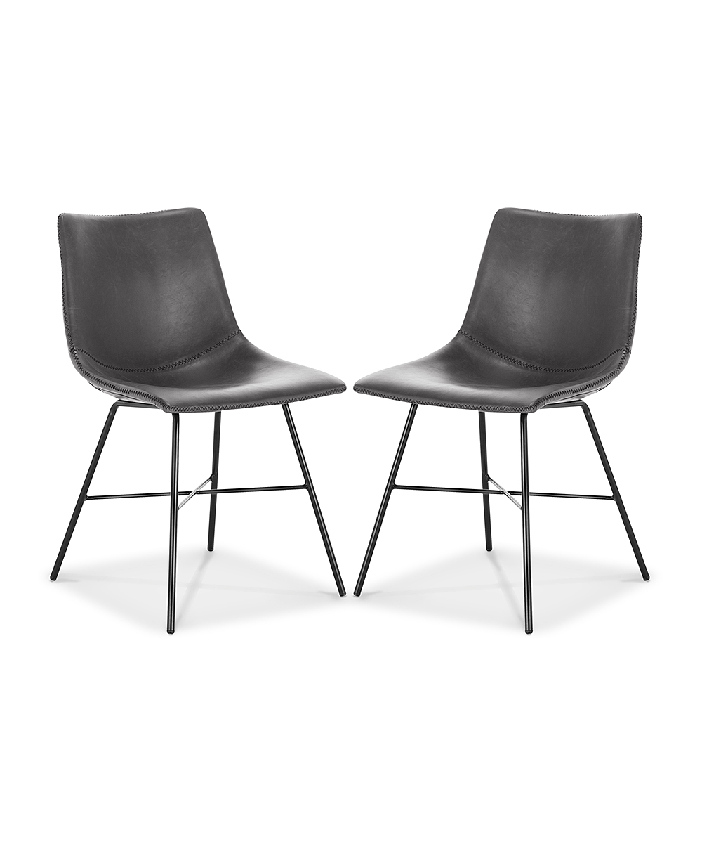 Gray Paxton Dining Chair - Set of Two