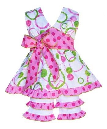Beautiful Pretty Toddler//Youth Sleeveless Backswing Pink Butterfly