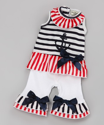 40c863467 Red & Blue Sail Away Outfit for 18'' Doll