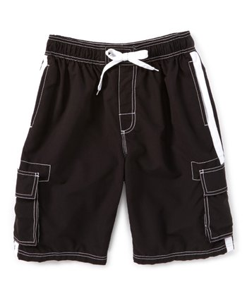 88be6250f3 Black Barracuda Swim Trunks - Men