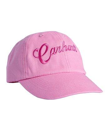e10a8fc29b2 Medium Pink Signature Logo Baseball Cap