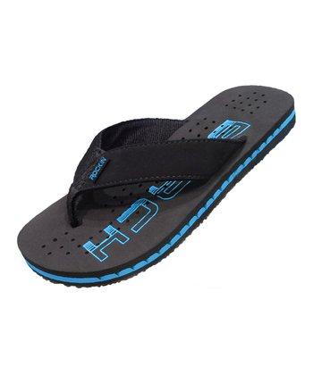 f1737b51efa74 Blue Beach Bum Flip-Flop - Men