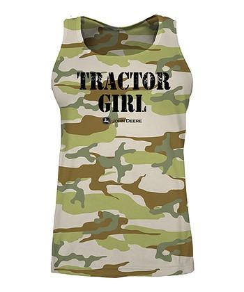 634be2f4 Camo 'Tractor Girl' Tank - Women