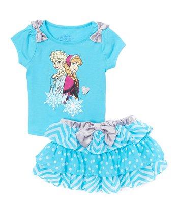 7e754b68e ... Apparel Network 760 results. Elev8tion Black Tee & Shorts - Infant.  Frozen Elsa & Anna Blue Bow Top & Skirt - Toddler