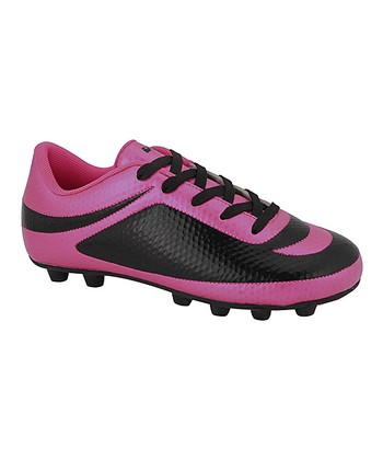 cd14377628d Pink   Black Infinity Soccer Cleat - Girls
