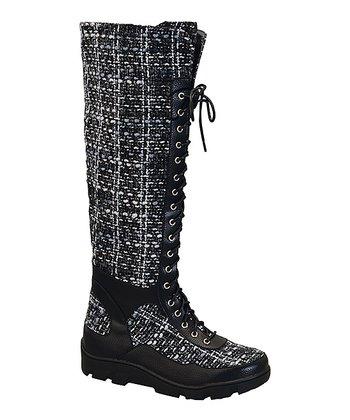 38a48b55302 Black Tweed William Boot - Women