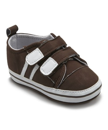 6dcb4de85b0 Coffee Double-Strap Sneaker - Boys