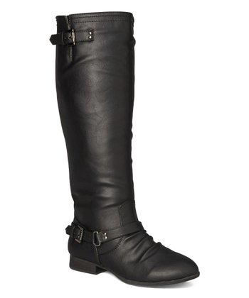 c20c135f068 Black Double-Buckle Coco Boot - Women