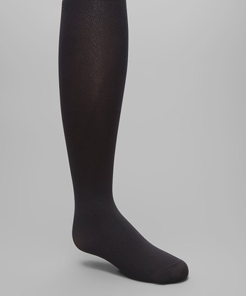 e4ff9690cc7 Black Winter Opaque Tights - Infant   Kids