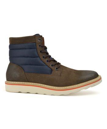 eb6b7ac39 ... Hawke & Co. 31 results. Dark Brown & Navy Hunter Hi-Top Leather Boot -  Men