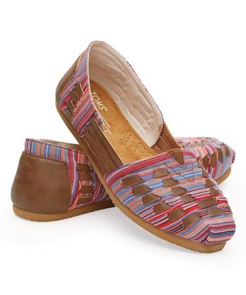 Brown Woven Huarache Alpargata - Women dc6eed4e8b7e