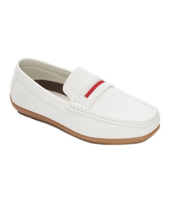 0fb4a7125c9 White Classic Loafer - Boys