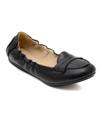 51c10aed14a Black Stretch Genie Penny Loafer - Women · Tan Genie Elastic ...