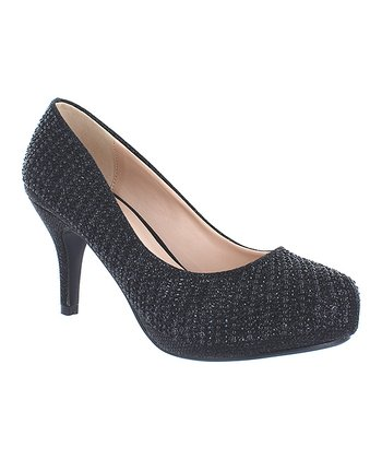 a07983828d52 Black Shimmer Paola Pump - Women