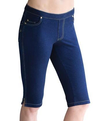 6453757686fc0 Blue Capri Jeans - Women