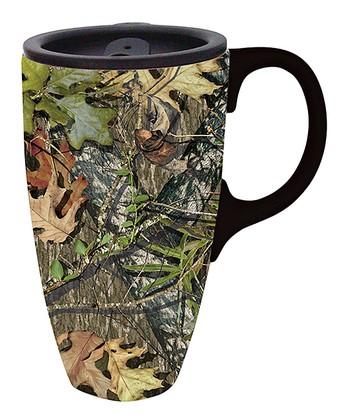 Mossy Oak 17 Oz Travel Mug Gift Box