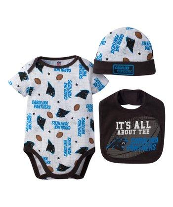 Carolina Panthers Bodysuit Set - Infant 666f85787