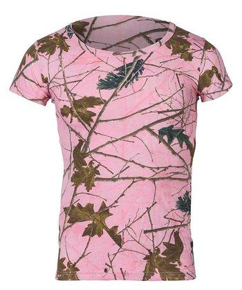 c5aef999918ba Pink Forest Short-Sleeve Tee - Women