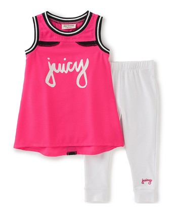 48769b3fc7 Pink  Juicy  Tank   leggings - Toddler