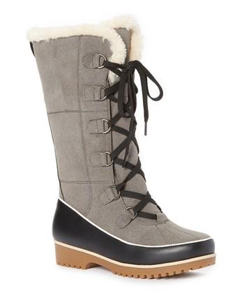 b560164106d7ec Gray Kristi Winter Boot - Women