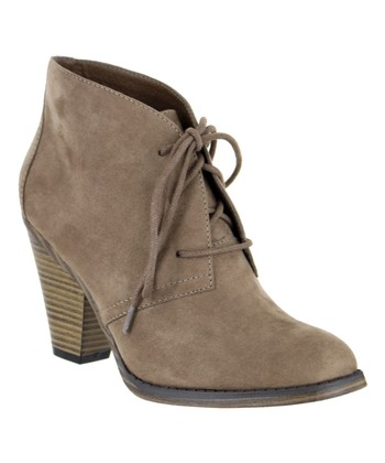 0c3ce4a3f28 Taupe Shawna Bootie - Women · Bright Pastel Florentina Ankle-Tie Sandal ...