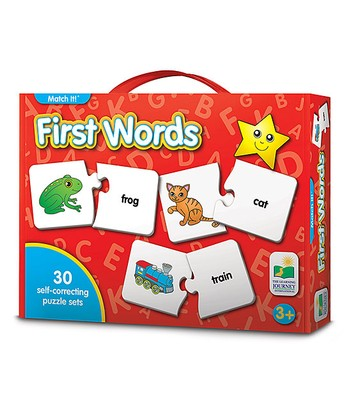 Match It First Words Puzzle Game