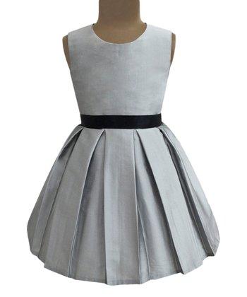 77e5667d4e75 Silver Emma Dress - Girls
