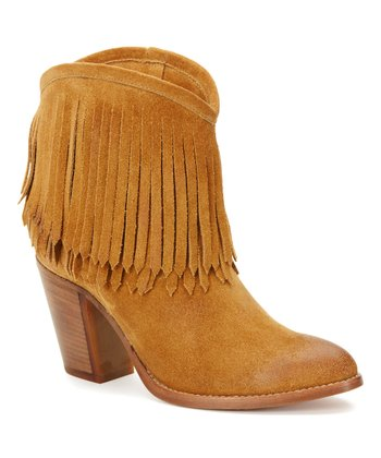 2c6772a67a Sand Ilana Fringe Short Leather Boot - Women