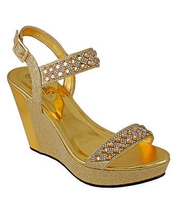 adad3c526dc7 Gold Anza Sandal - Women