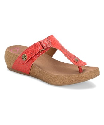 631d5db37b39 Cupid Red Shantel Leather Sandal - Women