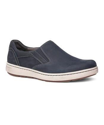 02589087f2d Navy Viktor Milled Nubuck Slip-On Walking Shoe - Men