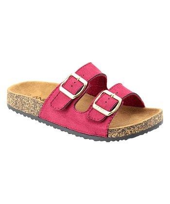 7a8a443b0639 Red Two-Strap Glory Sandal - Women