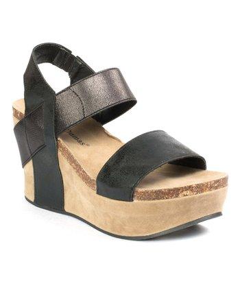49f15c975fa Black Hester Wedge Sandal - Women
