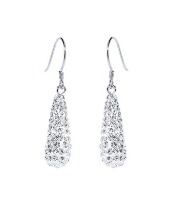 bdc7f53fe Sterling Silver Drop Earrings With Swarovski® Crystals