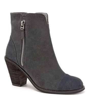 bd48c84f22f Dark Gray Fairhill Suede Boot - Women